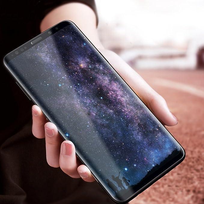 2 opinioni per Vetro Temperato Galaxy S9 Plus, Infreecs Galaxy S9 Plus Pellicola Protettiva per