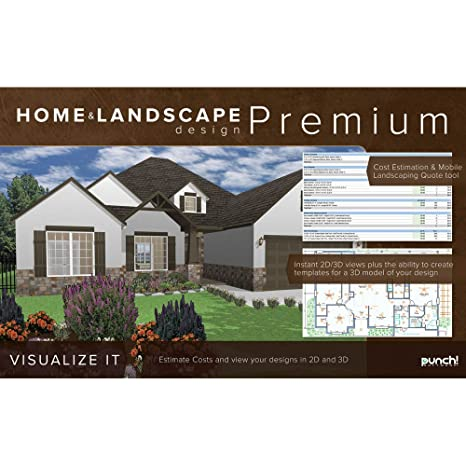 Amazon Com Punch Home Landscape Design Premium For Windows Pc
