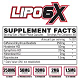 Nutrex Research Lipo 6X | Multiphase Liquid