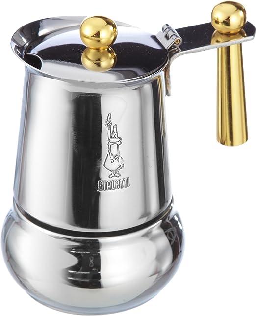 Bialetti Kitty Oro – Cafetera de Espresso para 1 Taza, Acero ...