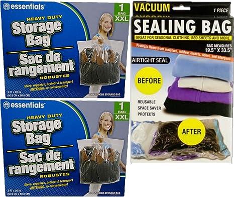 Amazon.com: Stor it bolsas de almacenaje con cierre de ...