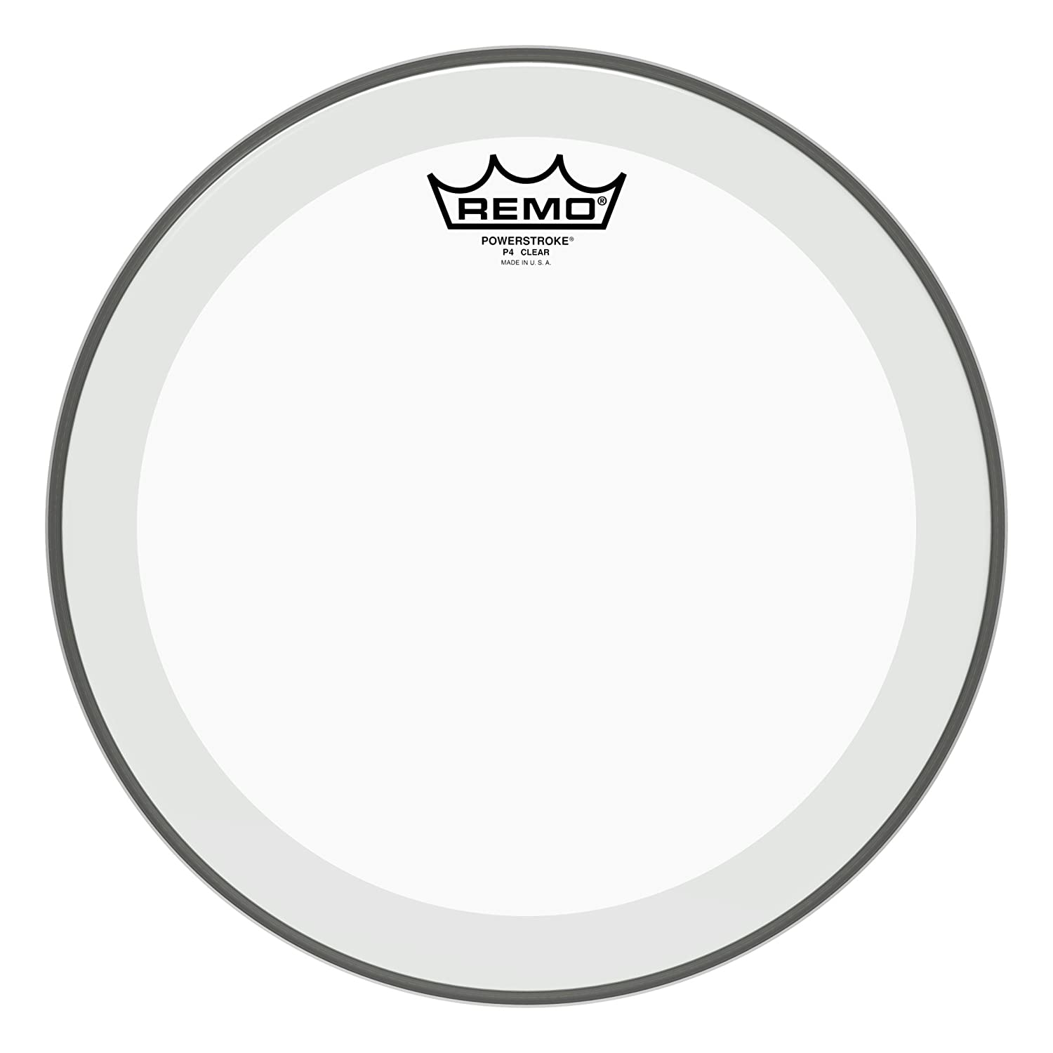 "Remo Batter, POWERSTROKE 4, Clear, 12"" Diameter 710bUWq-uTL"