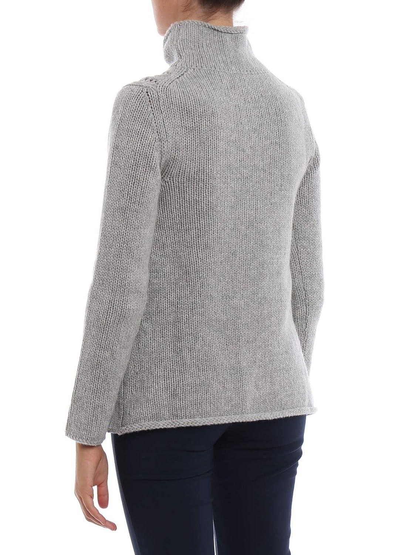 Kangra Womens 68000525 Grey Wool Sweater