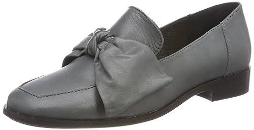Shoe Biz Hafdis, Mocasines para Mujer, Gris (Dark Grey), 39 EU: Amazon.es: Zapatos y complementos