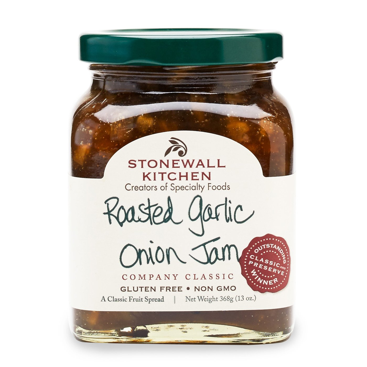 Stonewall Kitchen Roasted Garlic Onion Jam, 13 Ounces