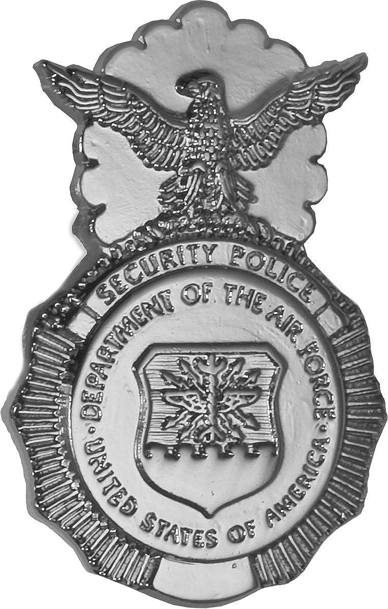 Security Police Badge Tie Tac