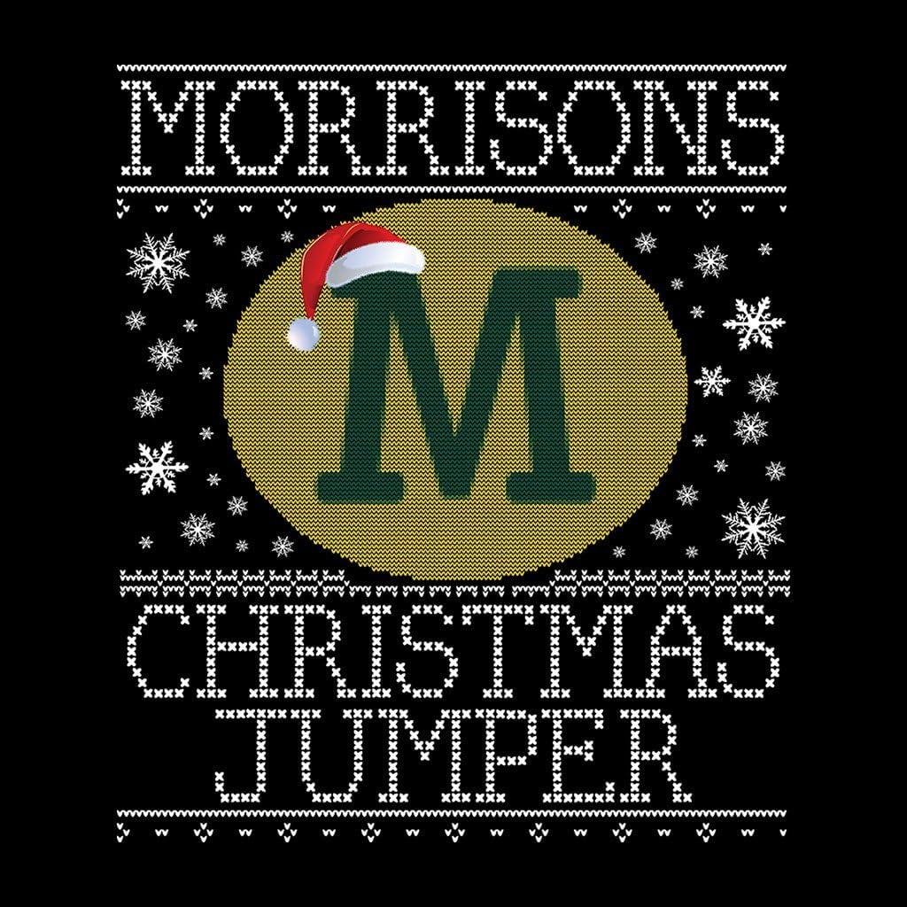 Coto7 Morrisons Christmas Jumper Knit Pattern Kids Sweatshirt
