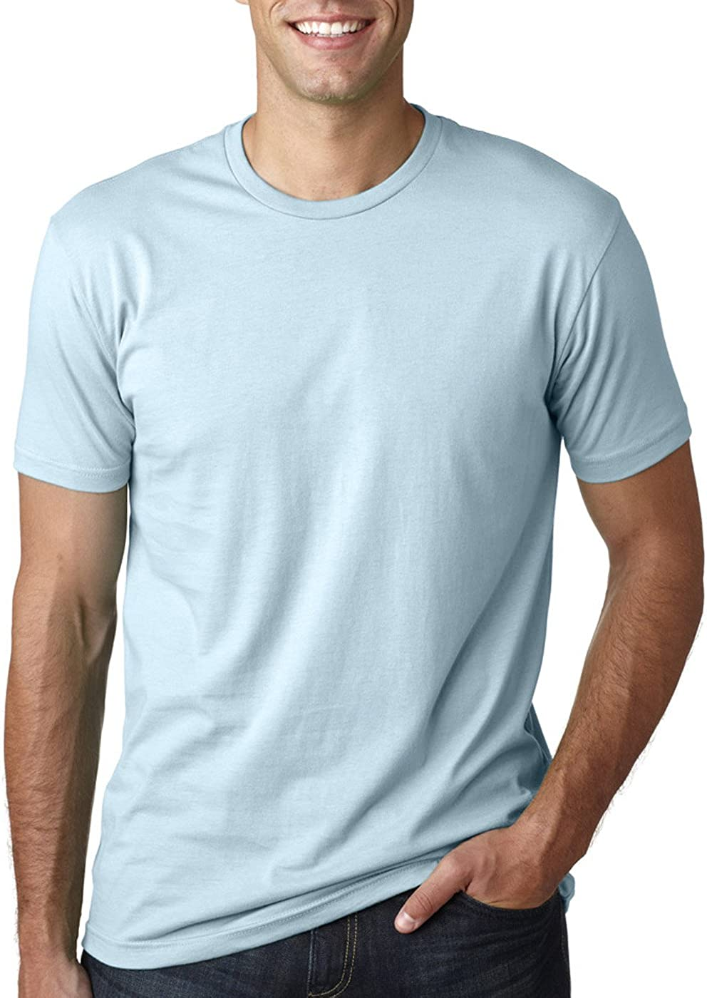 Next Level Mens Premium Fitted Short-Sleeve Crew T-Shirt 2 Pack - XX-Larte Black Kelly Green