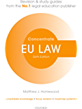 EU Law Concentrate: Law Revision and Study Guide (English Edition)