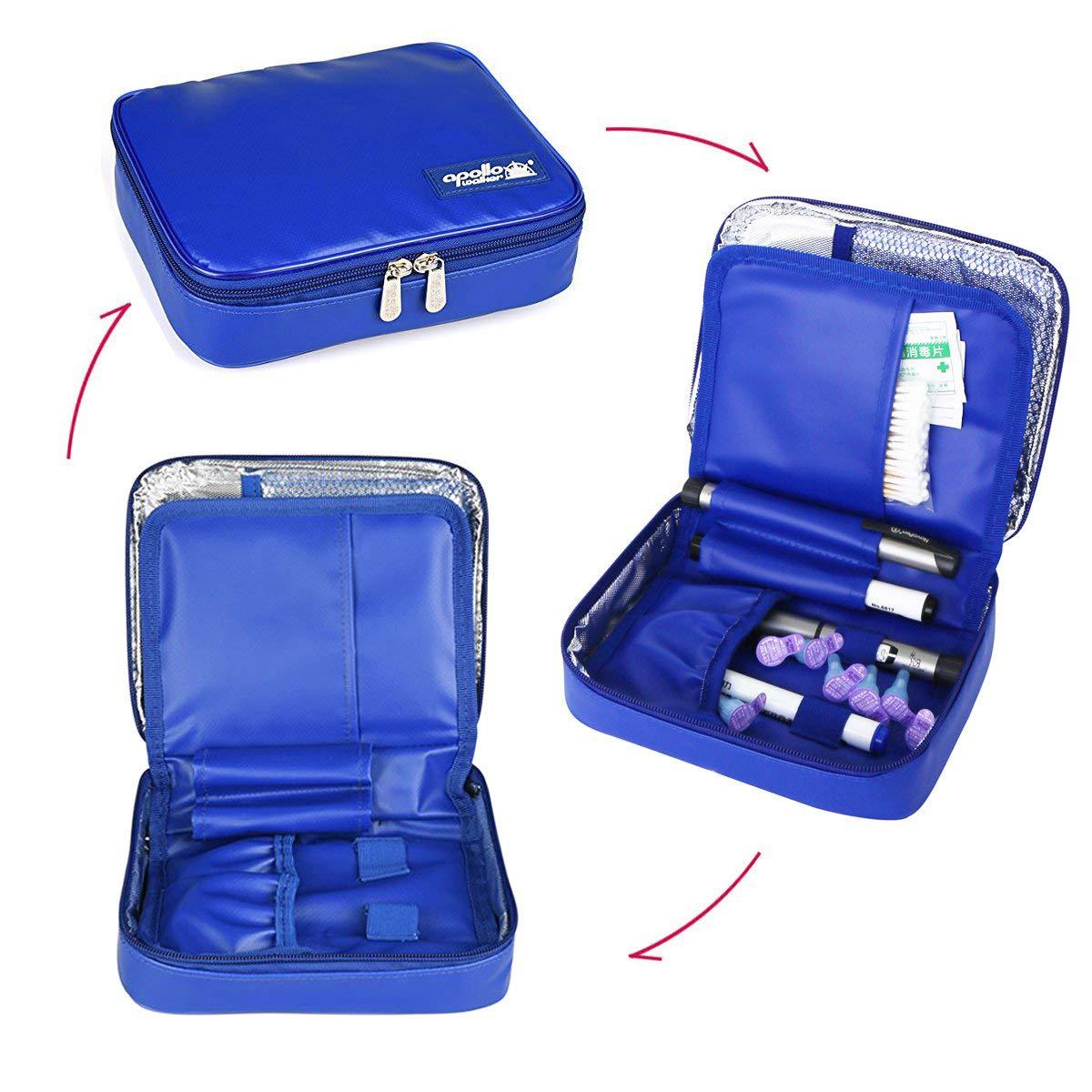 Amazon.com: ONEGenug Waterproof Insulin Cooler Travel Case ...