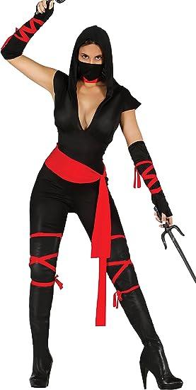 Guirca- Disfraz adulta black ninja, Talla 36-38 (80793.0): Guirca ...