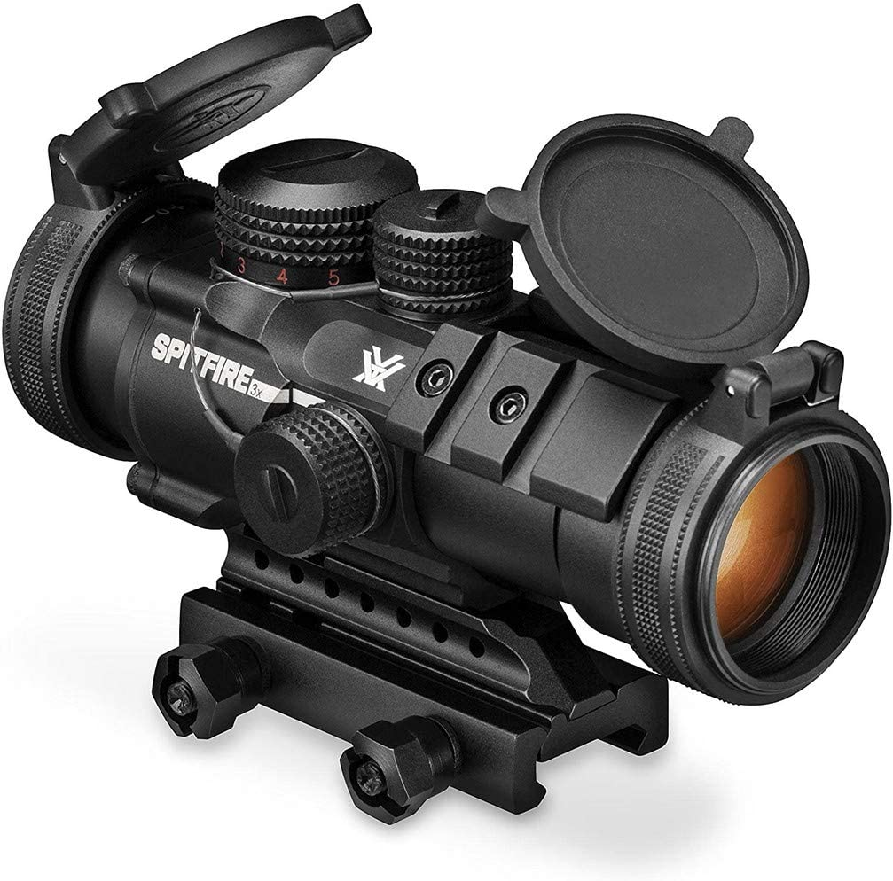 best ar scopes: Vortex Optics Spitfire EBR-556B Reticle (MOA)