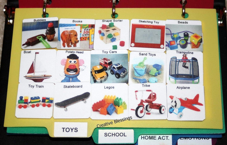 150 Real Pic Pecs libro para autismo, discurso, ADHD, comunicación ...