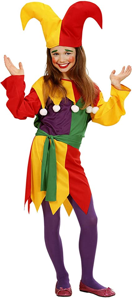 Rubies Comical Court Jester Baby Girl Costume