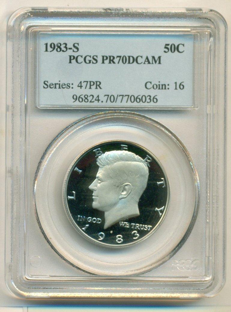 2008-S Silver Kennedy Half PR70DCAM PCGS Proof 70 Deep Cameo
