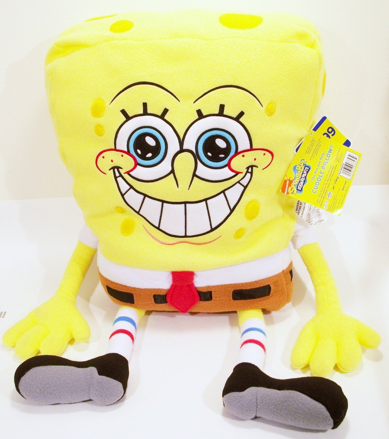 amazon com nick jr spongebob squarepants jumbo cuddle plush