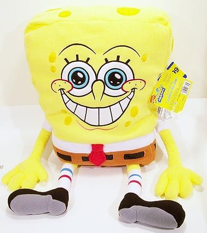 amazon com spongebob squarepants 26 large plush cuddle pillow doll