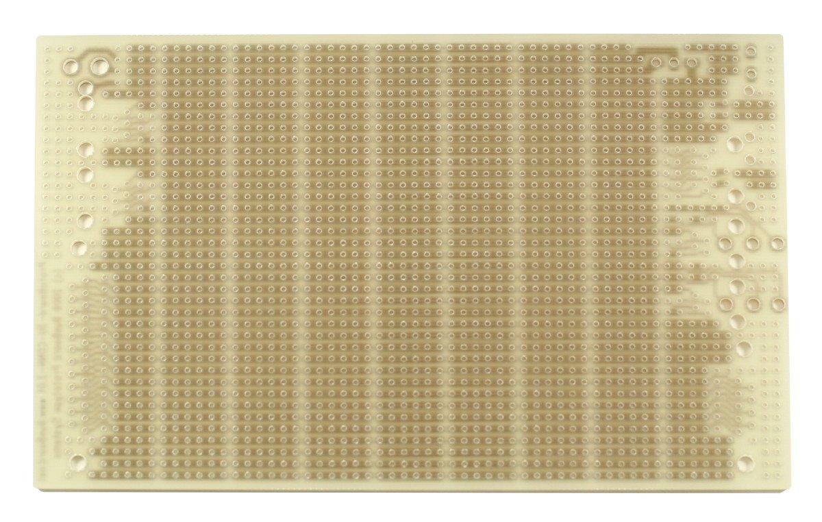 100 x 160 mm 1 Sided PCB 3.94 x 6.30 in BusBoard Prototype Systems Connector Footprints 6-Hole Strips PR3UC ProtoBoard-3U-CONN