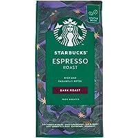 Starbucks Espresso Roast - Dark Roast Whole Bean Coffee, 200g