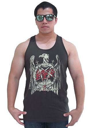 e09e646684db9a Bunny Brand Men s Slayer Eagle Logo Tour T-Shirt Tank Top Black (Medium)