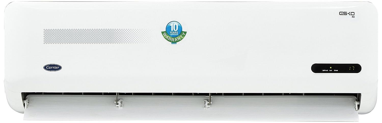 Carrier 1 Ton 4 Star Inverter Split AC  Copper Esko Inverter CAI12EK4C8F0 White  Air Conditioners