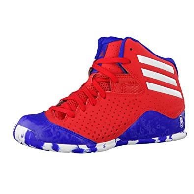 adidas Nxt Lvl Spd IV Nba K, Chaussures de Basketball Mixte Bébé, Multicolore