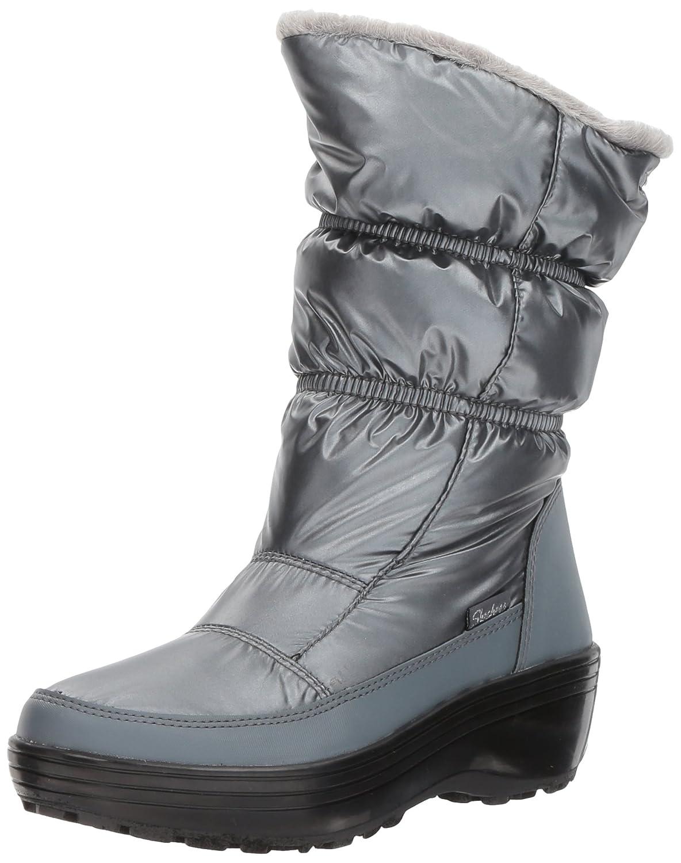 Skechers Women's Alaska Snow Boot B06XKP89FG 7 B(M) US|Pewter