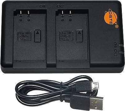 Doble USB Cargador para Nikon EN-EL20
