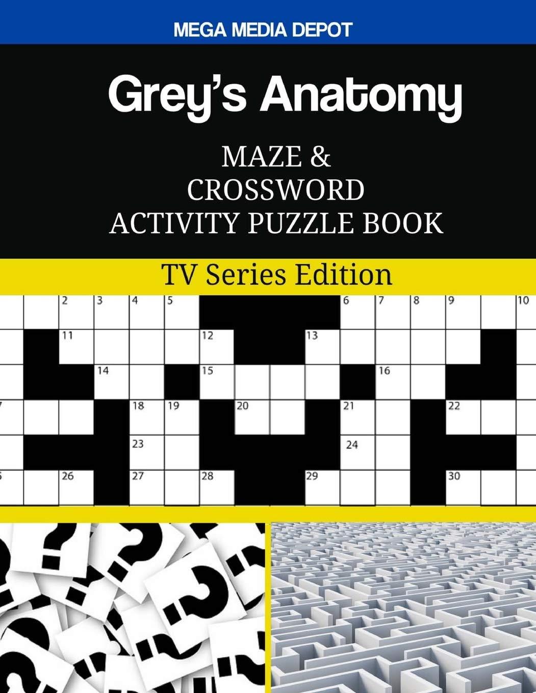 Amazon Greys Anatomy Maze And Crossword Activity Puzzle Book