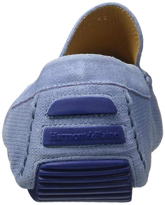 f3edbc7384ea Harmont & Blaine Mocassino, Sneaker Infilare Uomo, Turchese (Light Blue),  44 EU: Amazon.it: Scarpe e borse