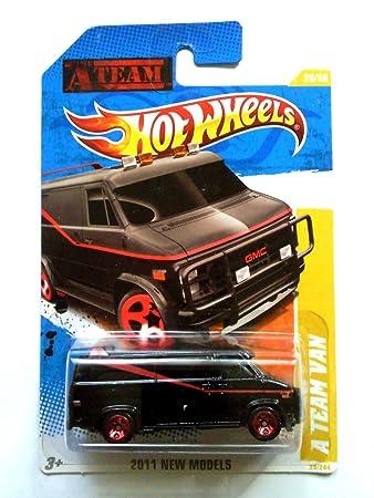 2011 Hot Wheels A Team Van Black 39 244