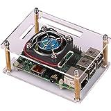 JBtek Transparent Acrylic Raspberry Pi B+ / Raspberry Pi 2 Case with External Fan