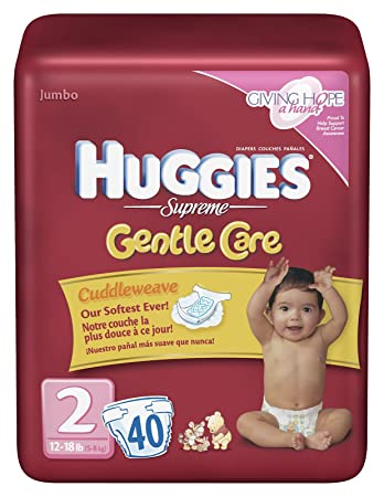 Huggies Supreme Gentle Care Size 2 (40 Count)