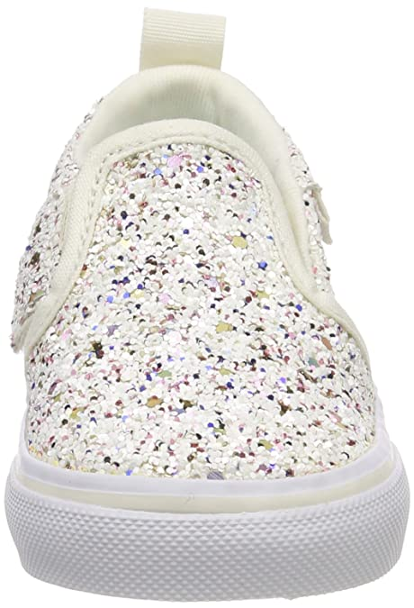 Amazon.com  Vans TD Asher V Glitter Multi Textile Infant Trainers  Shoes 8abb52c85
