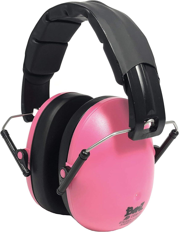 Baby Banz Childrens Earmuffs Ear Defenders Black