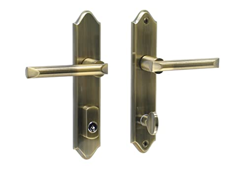 athens by fpl solid brass entry lever set with schlage keyway for