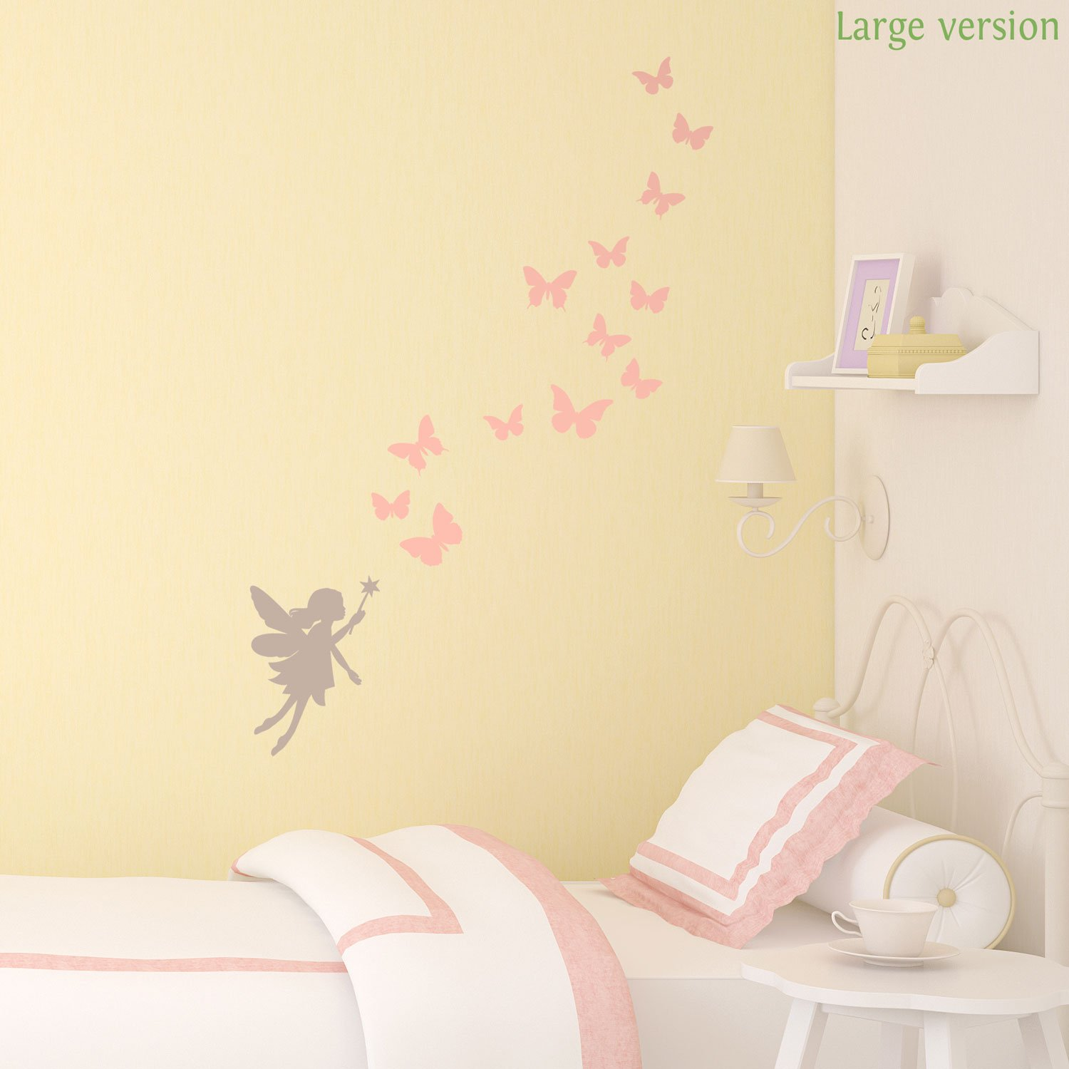 Fairies and butterflies wall sticker by Stickerscape (Large size ...