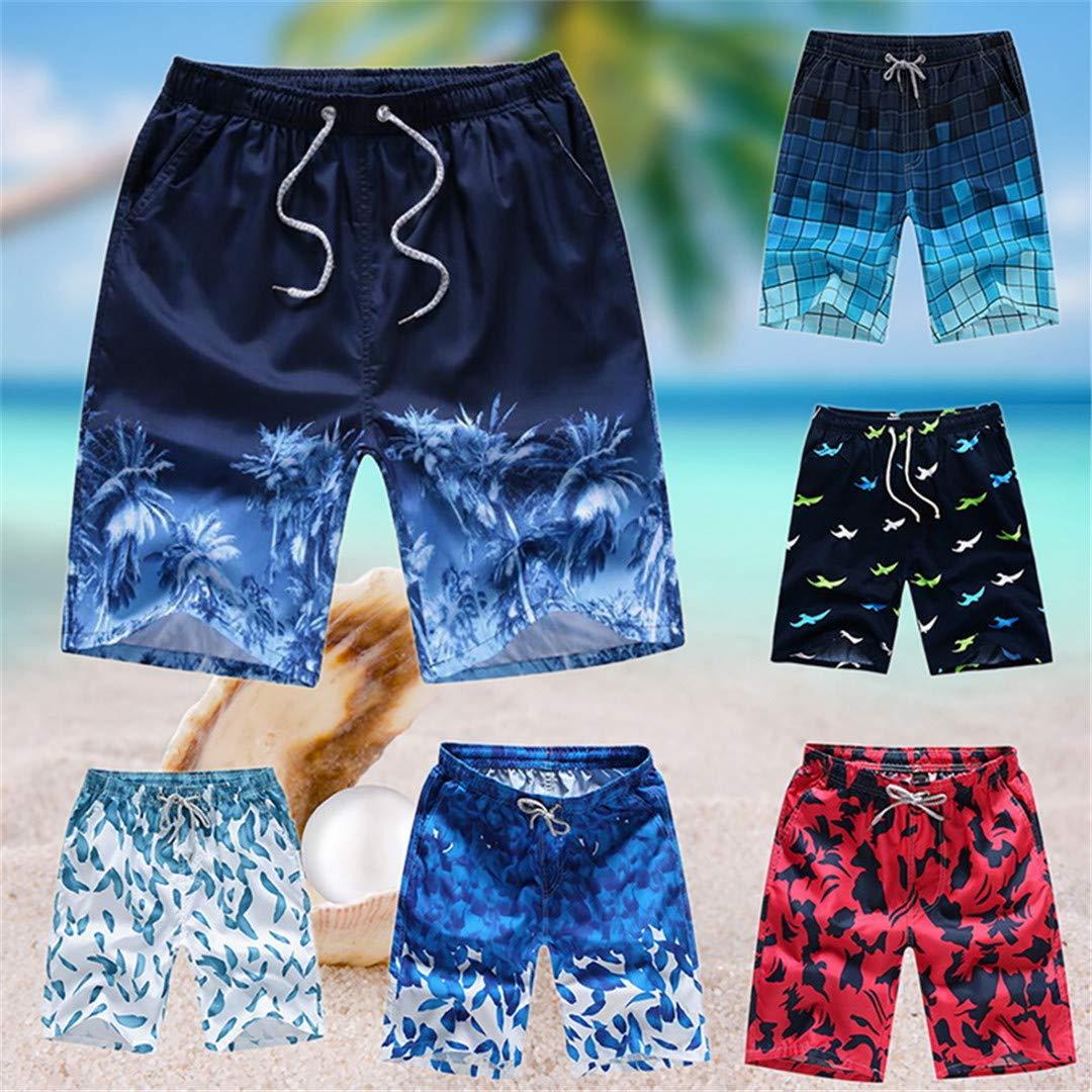 SCBMSAIURBF Summer Mens Board Shorts Beach Shorts Surfing Bermudas Style 15 XXL