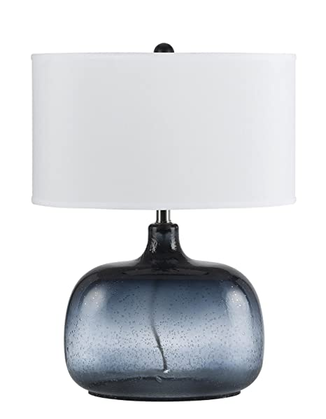 Amazon.com: CAL iluminación bo-2263tb Christi 1 luz azul ...
