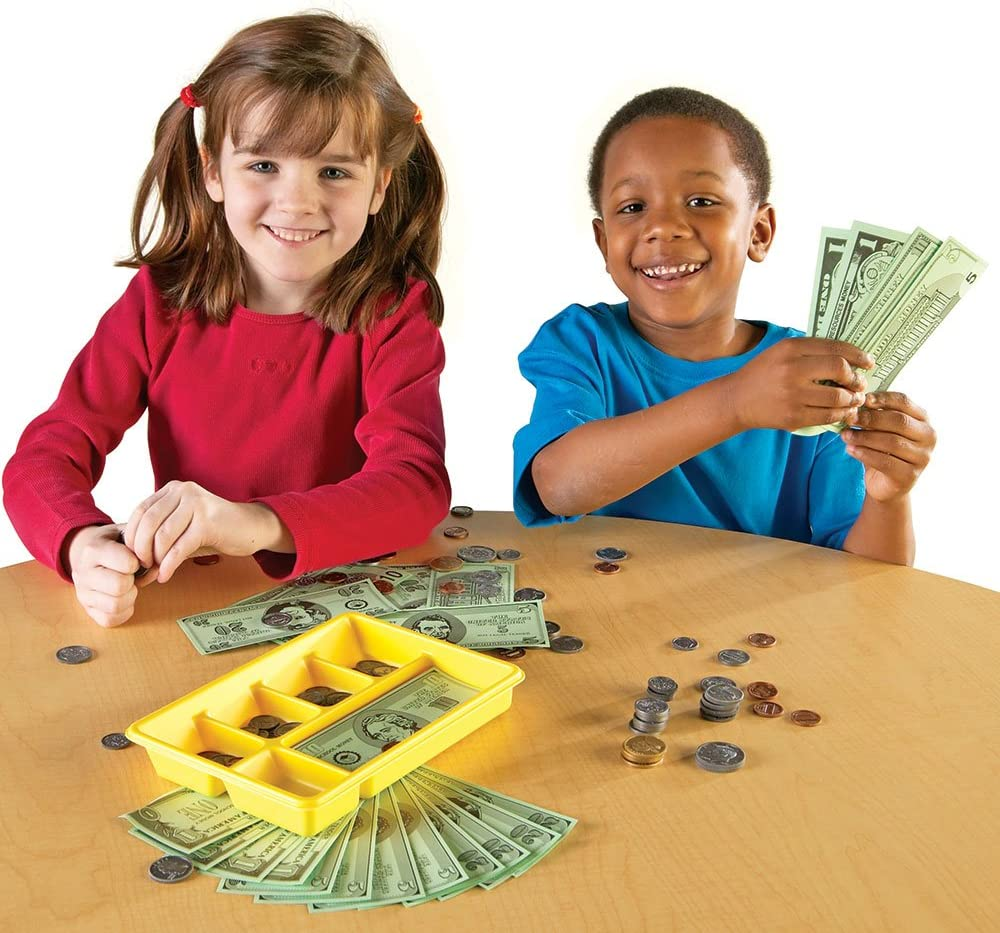 Learning Resources U.S 202 Pieces Currency X-Change Activity Set
