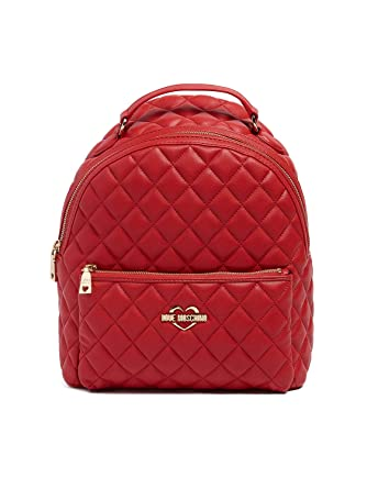d38bdbc63d Love Moschino Fashion backpack red: Amazon.co.uk: Shoes & Bags