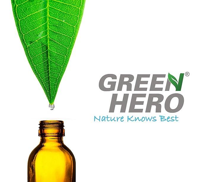 Green Hero olor eliminador Spray para textiles, guantes, Hogar y Auto | 100% naturales olor Limpieza por enzimas o microorganismos | neutralizador de olores ...