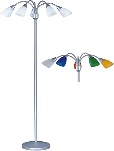 Park Madison Lighting PMF-4655-60 70″ Tall 5 Light Floor Lamp