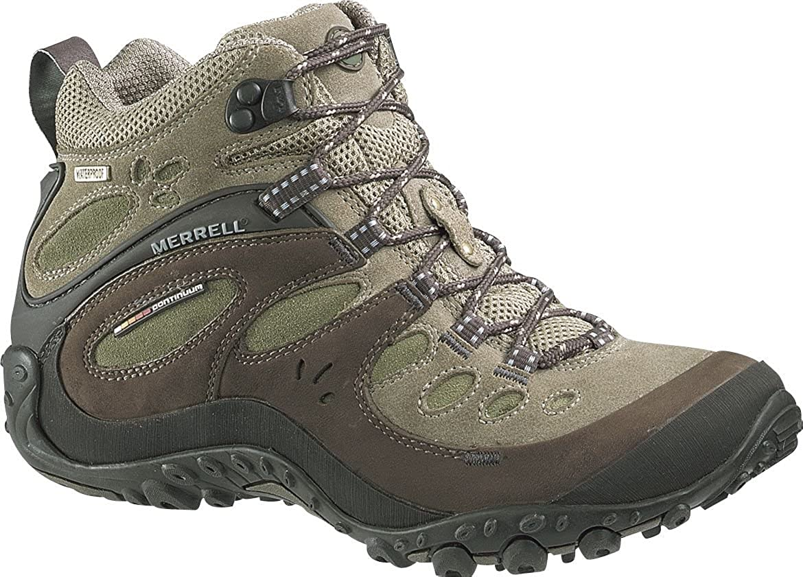 7af8ef4e59b Merrell Chameleon Arc Mid Ladies Walking Boots In Canteen 86946. (UK 4):  Amazon.co.uk: Shoes & Bags