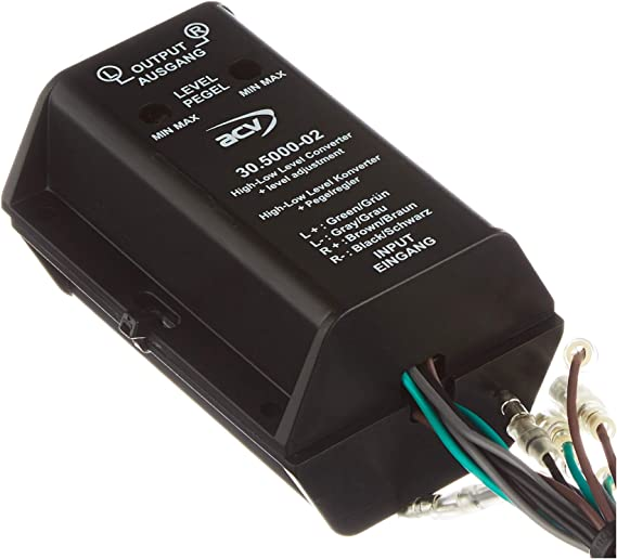 Acv 1424 50 Sound Upgrade High Low Adapter Most Auto
