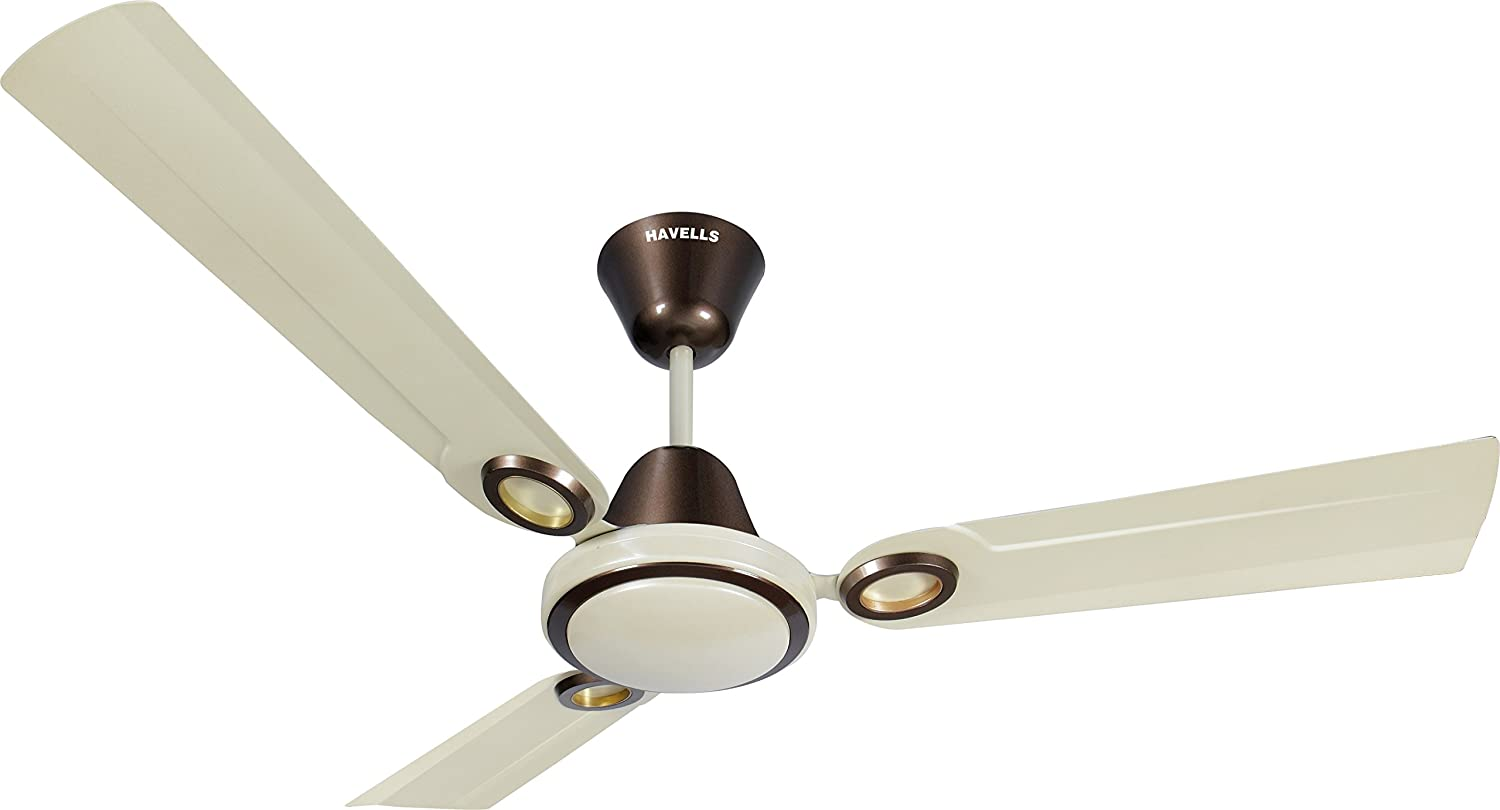 Buy havells joy 1200mm decorative ceiling fan pearl ivory brown buy havells joy 1200mm decorative ceiling fan pearl ivory brown online at low prices in india amazon aloadofball Gallery