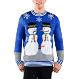 Tipsy Elves Men's Ugly Christmas Sweaters - Hiliarious Holiday Comfy Pullovers