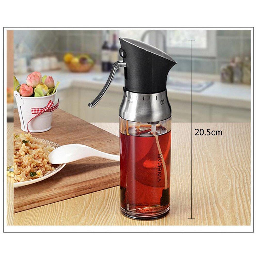 Compra Lezed Botella Spray Vinagre Aceite Pulverizador Aceite Oliva Pulverizador de Especias Pulverizador de Separado de Vinagre de Aceite Utensilios de ...