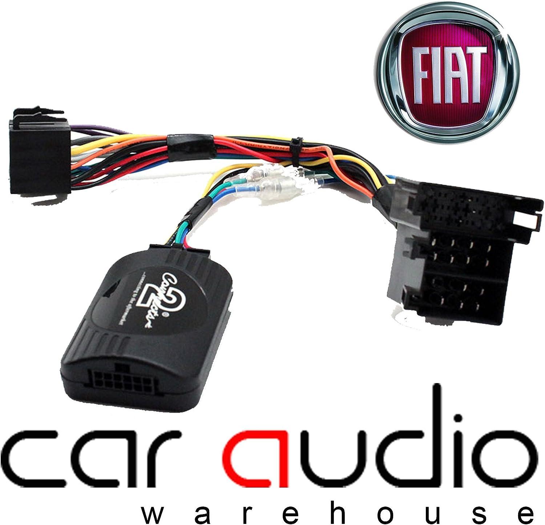 Adaptador de interfaz de control de audio T1 Audio T1-FT4 para volante de coche con cable de conexión, para Fiat 500, Punto, Ducato, Doblo, Idea, ...