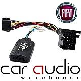 T1Audio t1-ft4 - Adaptador de interfaz de control para volante de coche con cable de conexión, paraFiat 500, Fiat Punto, Fiat Ducato, Fiat Doblo, Fiat Idea, Fiat Qubo, Fiat Fiorino, Fiat Nemo, Fiat Chevrolet Matiz